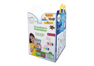 McDonald's Happy Meal Box Bücherpromo