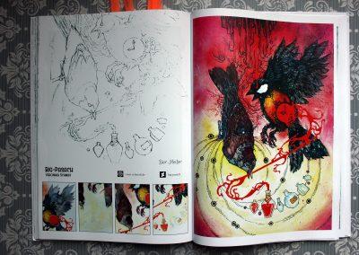 Der Heiler - Artbook-Layout